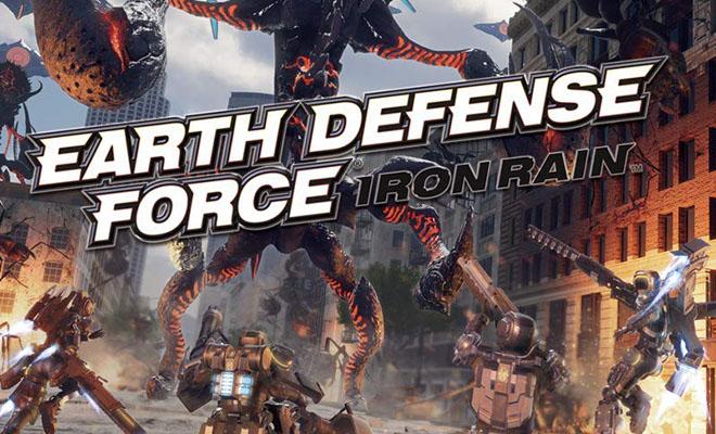 EARTH DEFENSE FORCE: IRON RAIN(EDF アイアンレイン)完全攻略ヘッダー画像